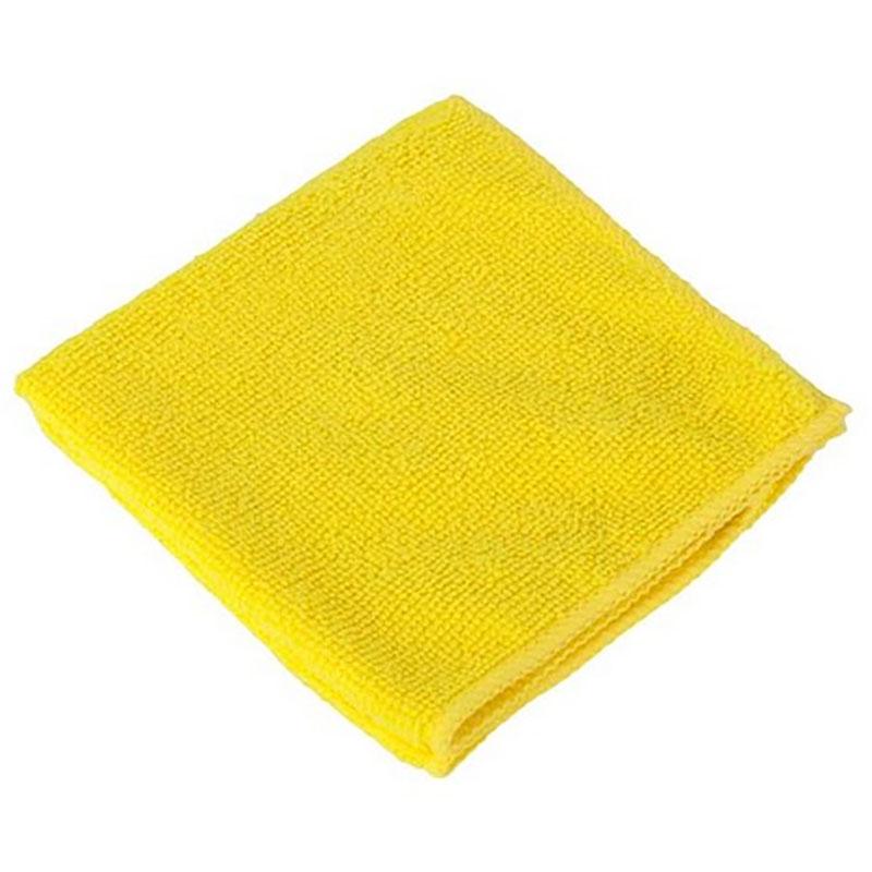 Салфетка 35х35см, микрофибра, 320г/м2, желтая, без упаковки