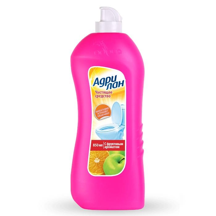 Средство чистящее для сантехники Адрилан, 850мл, с фруктовым ароматом