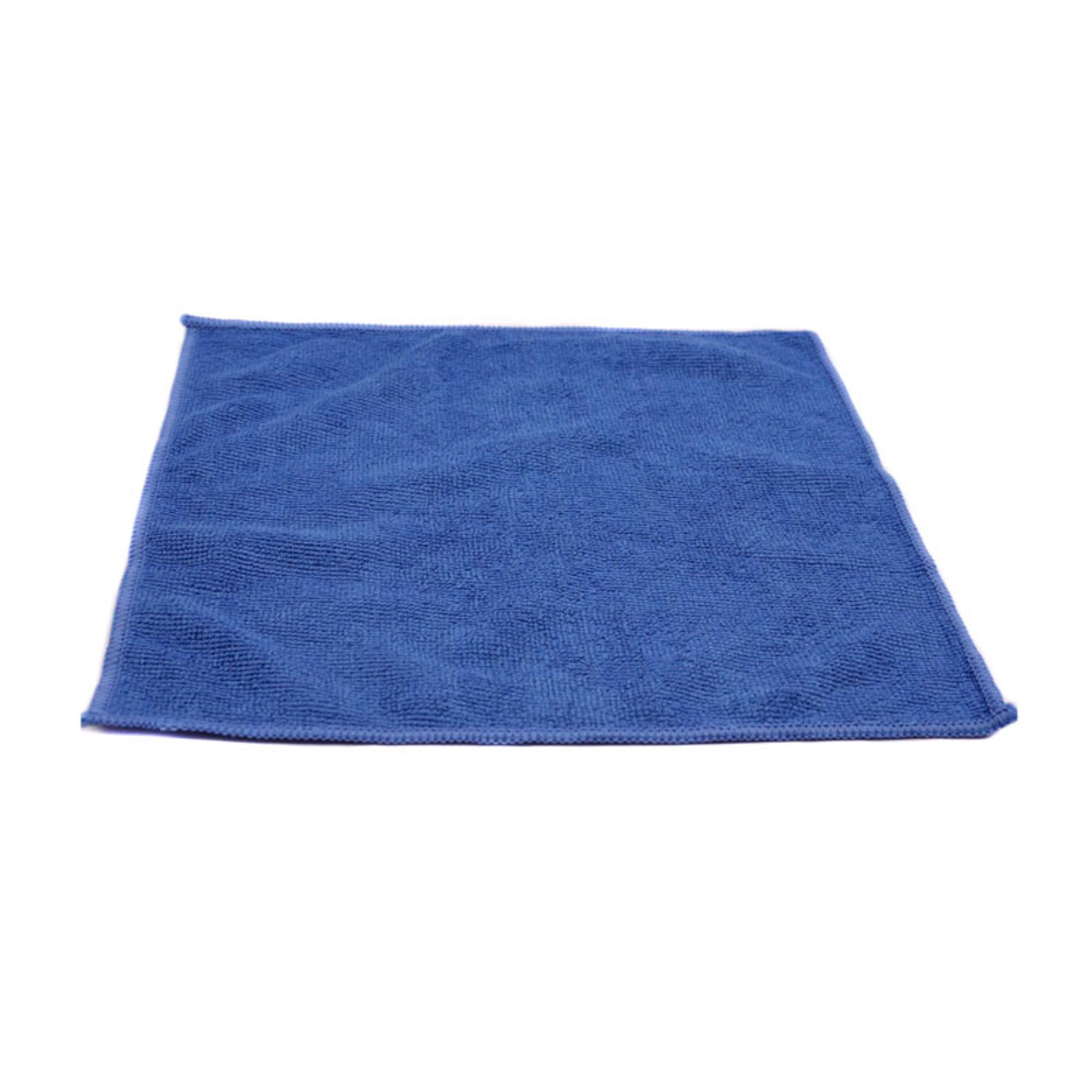 Салфетка 29х29см, микрофибра, 220г/м2, синяя, без упаковки