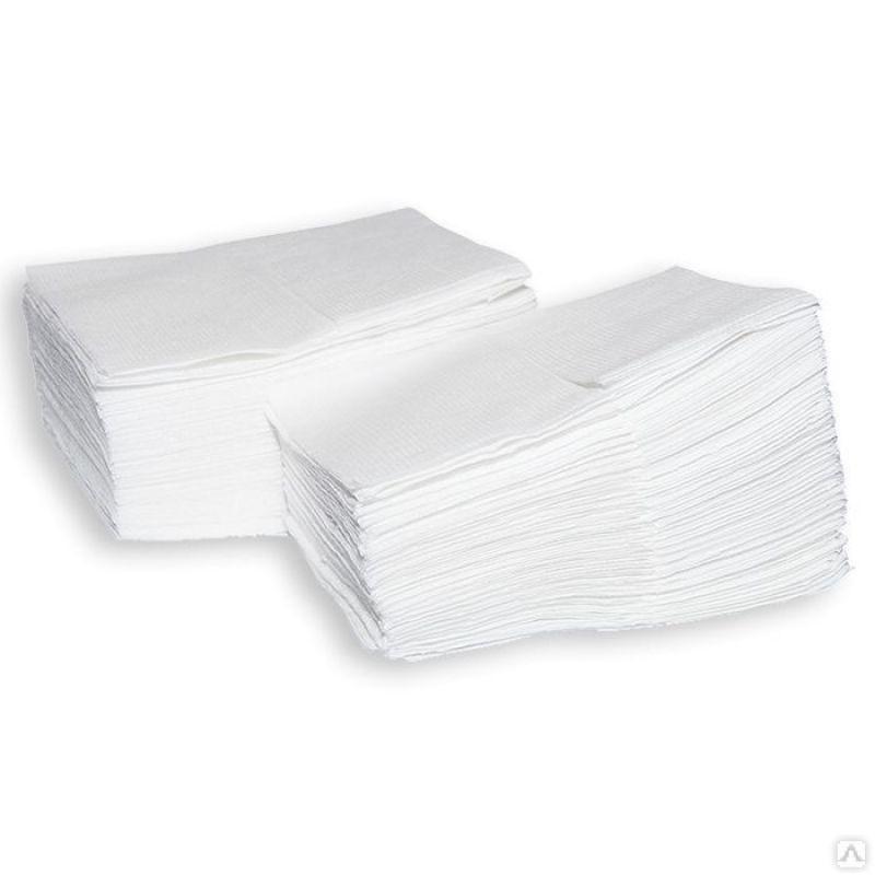 Салфетки бумажные Lime Napkins диспенсерные, 1-сл, белые, 100шт/уп, 48уп/кор, 247100